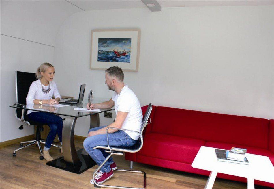 Pod meeting room